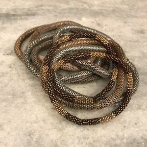 stackable h&m bracelets